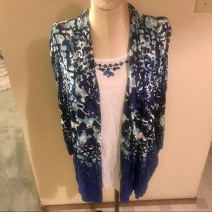 Alfred Dunner one piece cardigan